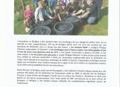 LE BERLIGOU A ETE VENDANGE SAMEDI (Ouest France 15/09/2014)