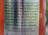 UNE PREMIERE : LE  BERLIGOU  EFFERVESCENT BRUT ROSE  DOMAINE DE GUERANDE MIS A DISPOSITION DES CONSOMMATEURS