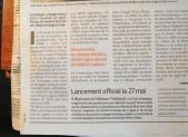 LE BERLIGOU , UNE BELLE HISTOIRE (Presse Ocean 11/05/16)