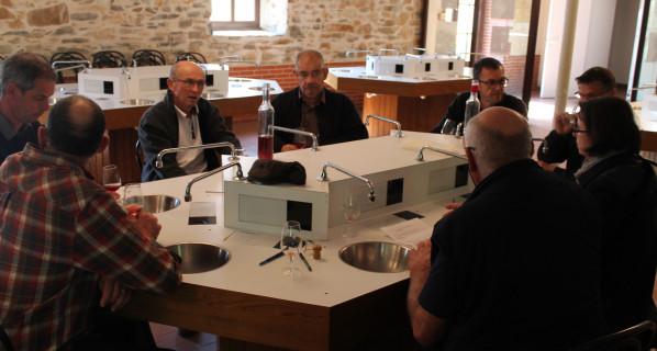 CONTROLE QUALITE DES VINS DE BERLIGOU ELABORES PAR LES PROFESSIONNELS (6/4/17)