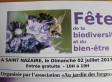 LE BERLIGOU A LA FETE DE LA BIODIVERSITE  AU JARDIN DES FORGES DE SAINT NAZAIRE (2/07)