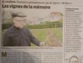 LES VIGNES DE LA MEMOIRE (Presse Océan 19/12/17)